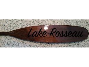 Custom Paddle Engravings