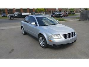 2005 Volkswagen Passat Sedan GLS Leather Manual Loaded CLEAR OUT