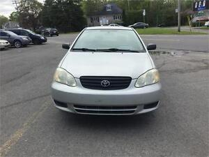 2004 Toyota Corolla  BAS MILAGE, AIRE CLIMATISÉE