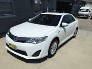 2014 Toyota Camry AVV50R Hybrid H White Continuous Variable Sedan Peakhurst Hurstville Area Preview
