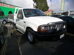2002 Ford F250 RN XL 5 Speed Manual Cab Chassis Nailsworth Prospect Area Preview