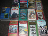 VHS Tapes (Trains) x 35
