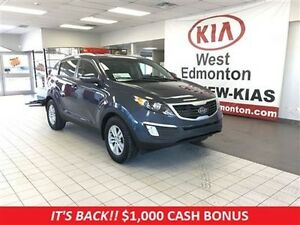 2012 Kia Sportage LX FWD 2.4L,  1 Year Free Powertrain Warranty!