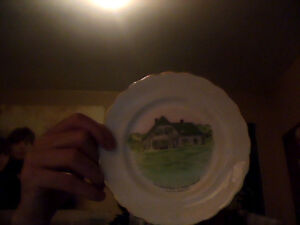 Anne Of Green Gables Plate & Anne OF Green Gables Home Display