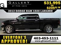 2012 DODGE RAM LARAMIE CREW *EVERYONE APPROVED* $0 DOWN $209/BW!