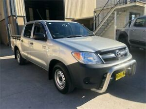 2006 Toyota Hilux GGN25R MY05 SR Silver Automatic Utility Greystanes Parramatta Area Preview