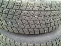 265\70R 18 winter tires with rimes
