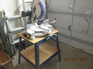 "12"" mitre saw and stand"