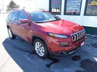2014 Jeep Cherokee Limited only $229 bi-weekly!