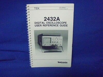 Tektronix 2432a User Reference Guide