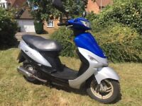 2009 Peugeot Vclic V Clic evp2 50cc scooter moped PRICE REDUCED FOR QUICK SALE