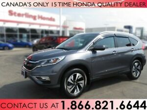 2016 Honda CR-V TOURING | 1 OWNER | NO ACCIDENTS