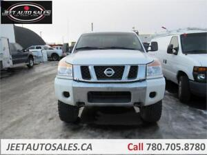 2012 Nissan Titan SV with 6 inch Lift