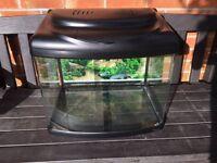 Superfish Panorama 60 Aquarium Black 55L