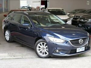 2016 Mazda 6 GJ1032 Sport SKYACTIV-Drive Blue 6 Speed Sports Automatic Wagon Doncaster Manningham Area Preview