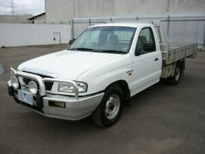 2004 Mazda Bravo B2600 DX 4x2 White 5 Speed Manual Cab Chassis Grovedale Geelong City Preview