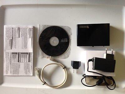 4 PORT USB 2.0 Print LAN Server Networking USB Printer Ethernet Adapter