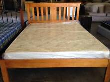 SOLD **BARGAIN** BEAUTIFUL PINE QUEEN BED AND VERY NEW MATTRESS West Perth Perth City Preview
