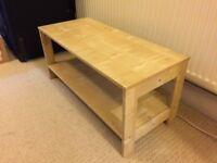IKEA Laiva coffee table / tv stand, 80cm, unused, quality item, 2 available