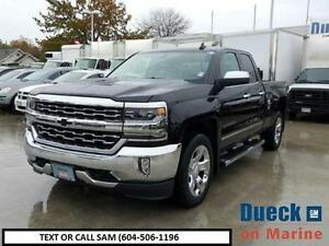 2016 CHEVROLET SILVERADO 1500 LTZ (BLACK ON BLACK)