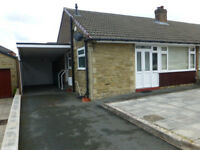 2 BED SEMI DETACHED BUNGALOW, ROBERTTOWN, LIVERSEDGE, WEST YORKSHIRE £155000 - all offers considered