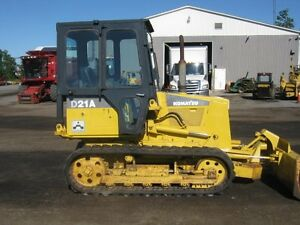 Komatsu D21A Rubber Track Dozer Cambridge Kitchener Area image 3