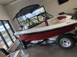 2018 Rinker 18QXOB with Fish and Ski with Evinrude 150Hp