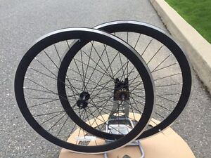 -25% set roues fixie NEUVE fixed gear wheelset