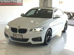 2016 BMW 220d F22 Sport Line White 8 Speed Sports Automatic Coupe Southport Gold Coast City Preview