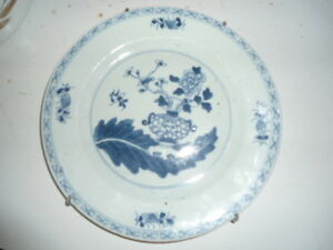 Antique Plate from Hollalnd blue