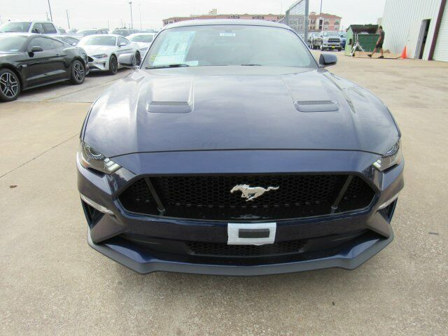 Owner 2020 Ford Mustang GT Premium 5 Miles Kona Blue Metallic 2dr Car Premium Unleaded