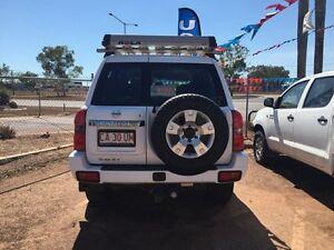 2005 Nissan Patrol GU3 ST White 4 Speed Automatic Wagon Hidden Valley Darwin City Preview