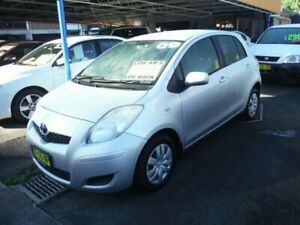 2009 Toyota Yaris NCP90R 08 Upgrade YR Silver 5 Speed Manual Hatchback East Lismore Lismore Area Preview