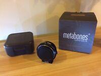 Metabones Nikon NF - BMPCC Speedbooster