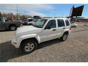 2002 Jeep Liberty Limited *WHITE LEATHER*