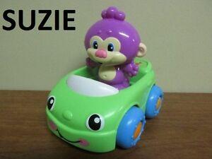 L'ami de Puppy **Monkey en voiture** de Fisher-Price...12cm