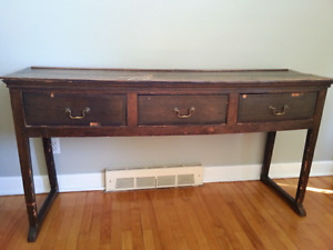 Antique Dining Room Console Table