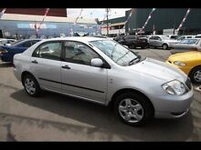 2004 Toyota Corolla ASCENT ZZE122R Silver 4 Speed Kingsville Maribyrnong Area Preview