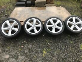 18 inch Genuine Audi Alloys