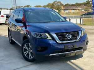 2018 Nissan Pathfinder R52 Series II MY17 ST X-tronic 2WD Blue 1 Speed Constant Variable Wagon