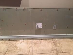1/4 in tempered glass