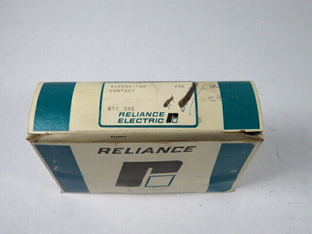 Reliance Electric 413330-7AM Movable Contact Barrier Block  NEW