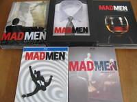 MADMEN saison 1-2-3 en DVD et saison 4-5 en BLU-RAY