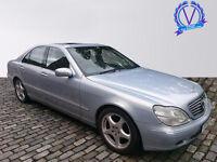 MERCEDES-BENZ S CLASS S320 CDi 4dr Auto (blue) 2001