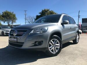 2009 Volkswagen Tiguan 5NC MY10 103 TDI Grey 6 Speed Tiptronic Wagon Coopers Plains Brisbane South West Preview