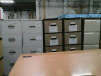 Variety of filing cabinets without keys