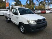 2010 Toyota Hilux TGN16R MY10 Workmate White 5 Speed Manual 2D CAB CHASSIS Penrith Penrith Area Preview