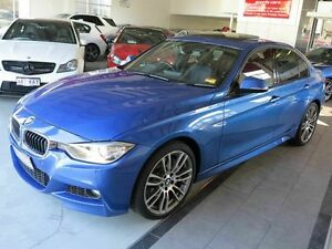 2012 BMW 335i F30 MY0812 Estoril Blue 8 Speed Sports Automatic Sedan Albion Brisbane North East Preview