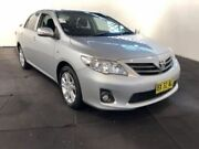 2013 Toyota Corolla ZRE152R MY11 Ascent Sport Silver Pearl 4 Speed Automatic Sedan Clemton Park Canterbury Area Preview