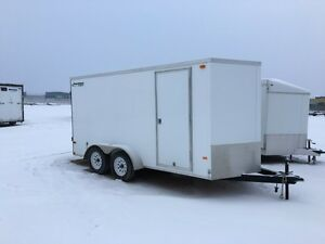 New Rainbow 7x14 Tandem Enclosed Trailer